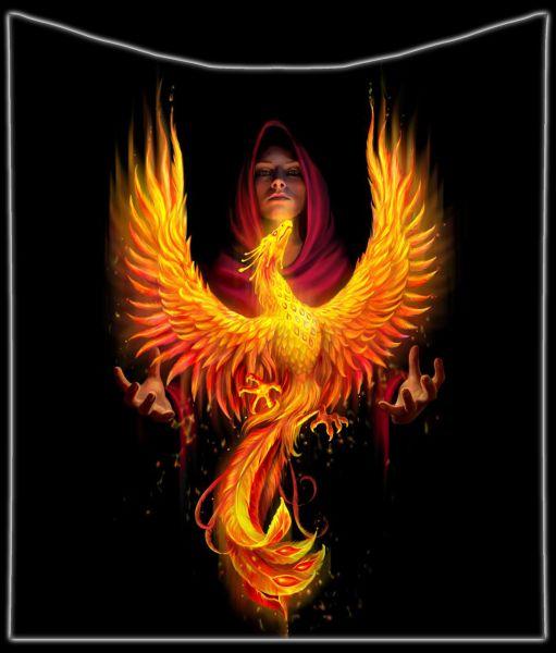 Fluffy Blanket Fire - Phoenix Rising