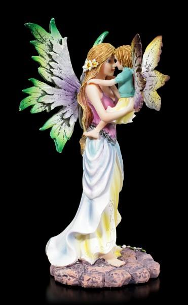 Fairy Figurine - Magic Mama with Child