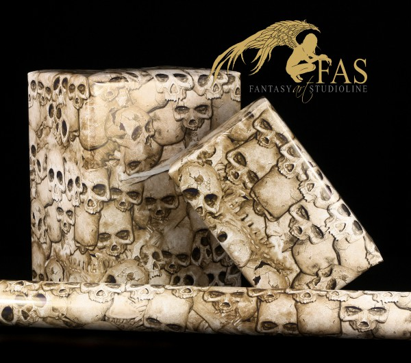 Fantasy Gift Wrap - Cheap Bones