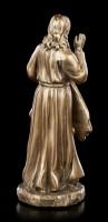 Small Divine Mercy Figurine - bronzed