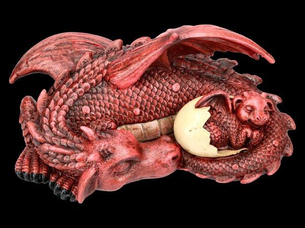 Drachen Figur - Dream a little Dream - rot