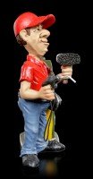 Funny Jobs Figurine - Gas Station Attendant