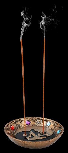 Räucherstäbchenhalter Schale - Chakra