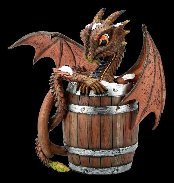 Dragon Figurine - Dark Beer by Stanley Morrison