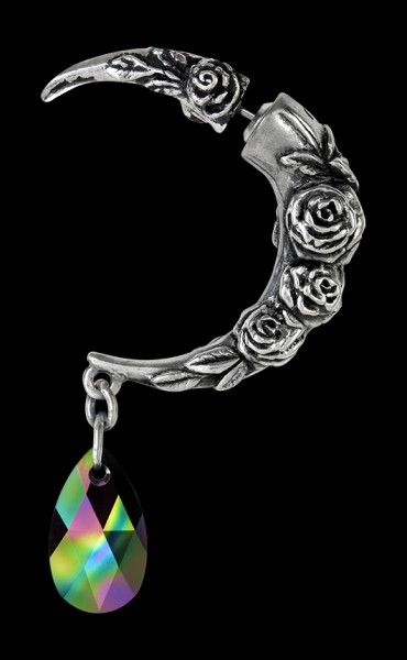 Alchemy Gothic Ohrring - Rosemoon - Rosen Mond