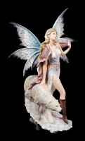 Fairy Figurine - Milaileé with Polar Bear