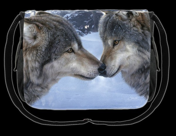 Umhängetasche Wolf - Muzzle Nuzzle