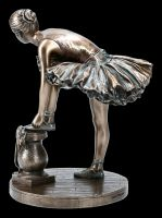 Ballett Figur - Ballerina bei Vorbereitung
