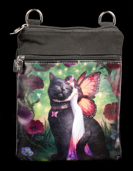Small Shoulder Bag - Cat and Fairy