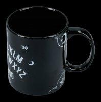 Schwarze Keramik Tasse - Witchboard