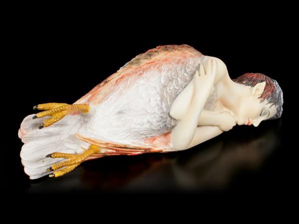 Fallen Harpy Figurine by Sheila Wolk