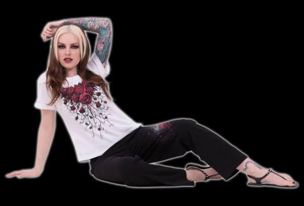 Pyjama Set 4 tlg. Gothic - Blood Rose
