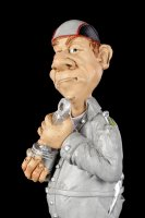 Funny Job Figurine - Mechanic with Piston