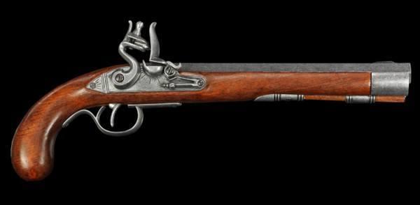 Steinschloßpistole - Kentucky Pistole Replikat