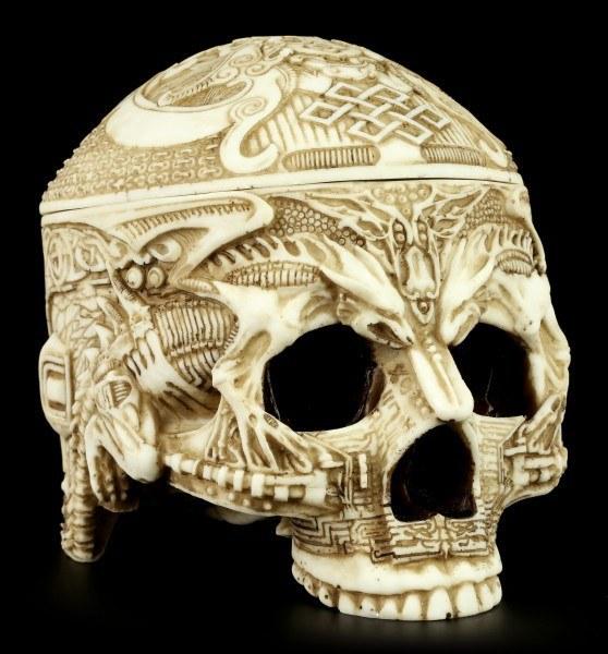 Tibetan Skull Box