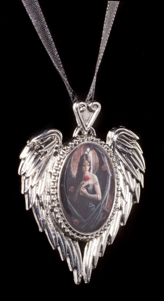 Halskette mit Engel - Angel Rose