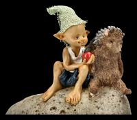 Pixie Goblin Figurine - Spiky Friendship