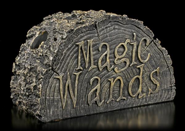 Zauberstab Halter Baumstumpf - Stump of Magic