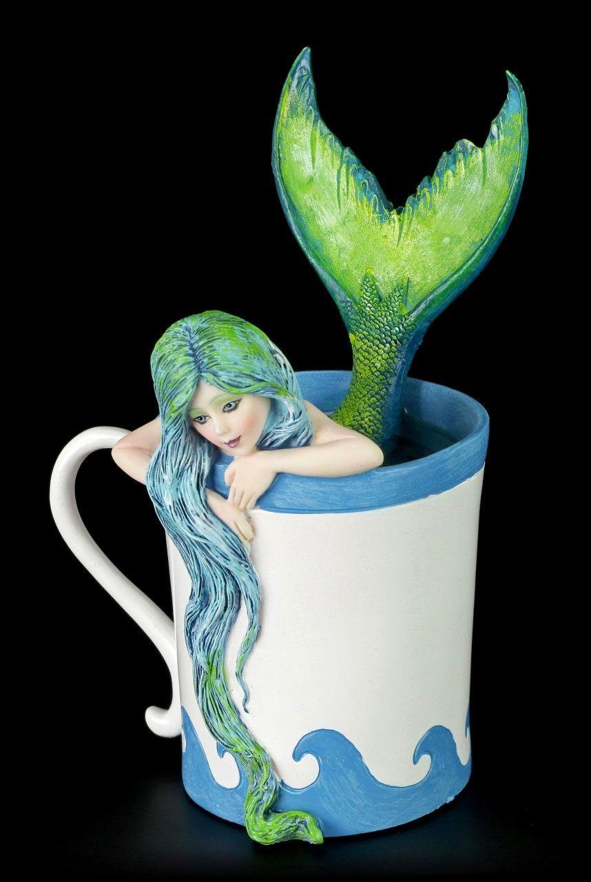 Mermaid Figurine - Morning Bliss Mermaid