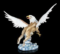 Griffin Figurine with outstretched Wings