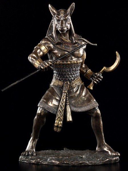 Seth Figur als Krieger