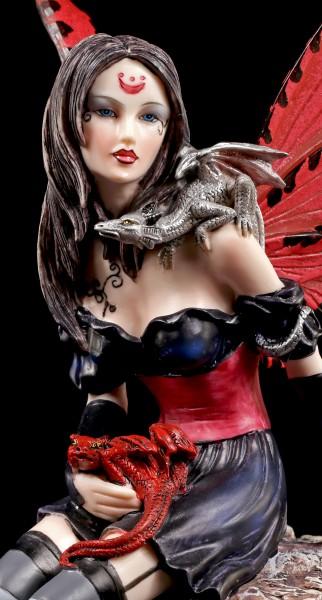 Fairy Figurine with Dragon Babies - Natascha