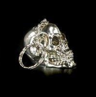 Skull Keyring - Silver Color