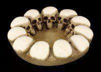 Aschenbecher - Schädelkreis