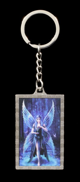 3D Keyring with Fairy - Enchantment