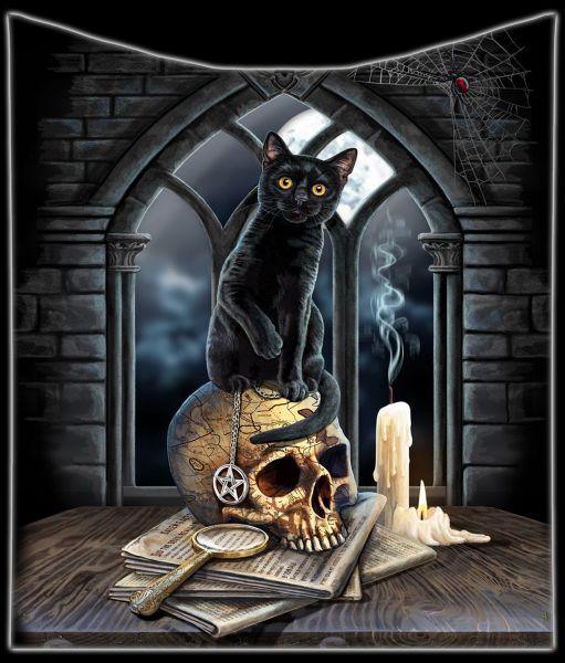 Kuscheldecke Katze - Spirits of Salem