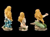 Little Mermaid Figurines - Set of 3