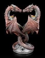 Candle Holder - Dragon Heart - Valentine's Edition