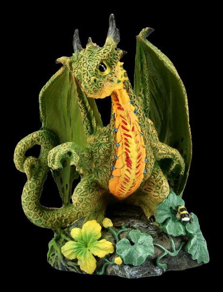 Dragon Figurine - Cantaloupe