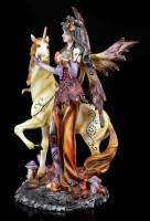 Elfen Figur Papina mit Einhorn - Mystery Forest