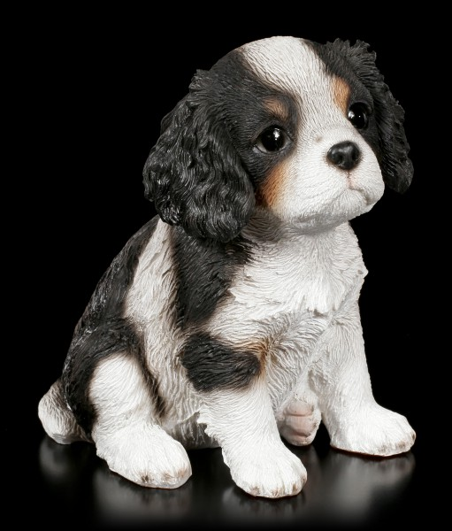 Dog Puppy Figurine - King Charles Spaniel