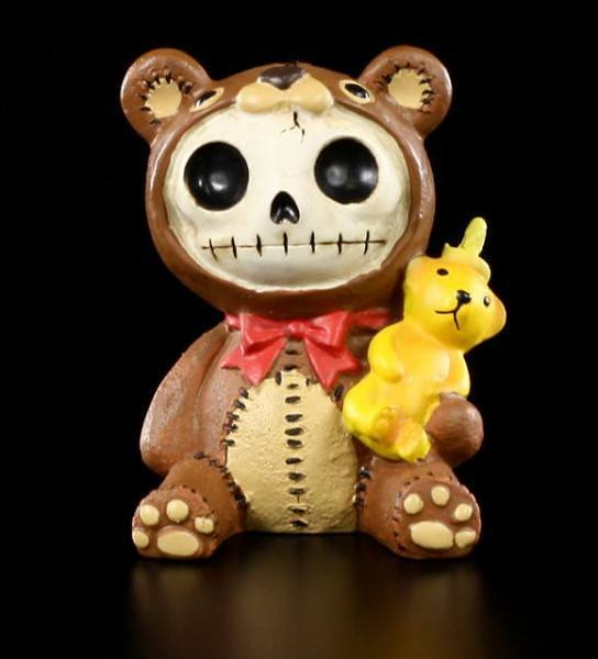 Furry Bones Figur - Honeybear