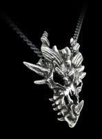 Alchemy Metal Wear - Halskette - Dragon Skull