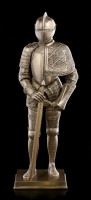 Knight Figurine in Plate Armor with Sword