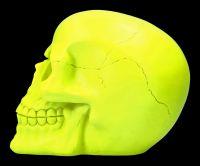Skull Neon - Psychedelic Yellow