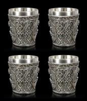 Medieval Shot Glasses - Crusader Set of 4
