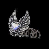 Alchemy Drachen Haarspirale - Heart of An Angel