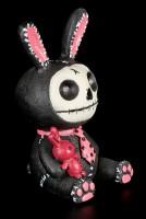 Bunny Black Bun Bun - Furry Bones Figurine