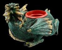 Drachen Blumentopf - Protector