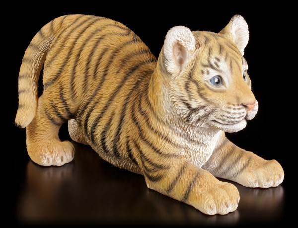 Garden Figurine - Tiger Baby want's to play