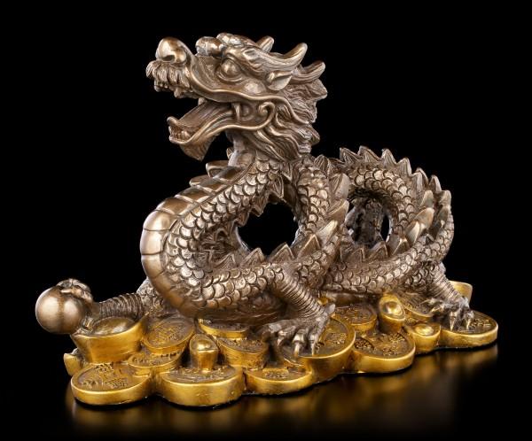 Asian Feng Shui Dragon Figurine