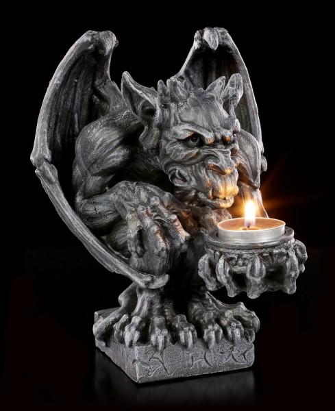 Gargoyle Teelichthalter