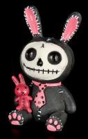 Furry Bones Figur - Hase Black Bun Bun
