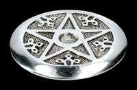 Incense Plate - Pentagram