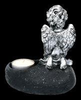 Grabengel Teelichthalter - Ein Engel Schütze Dich