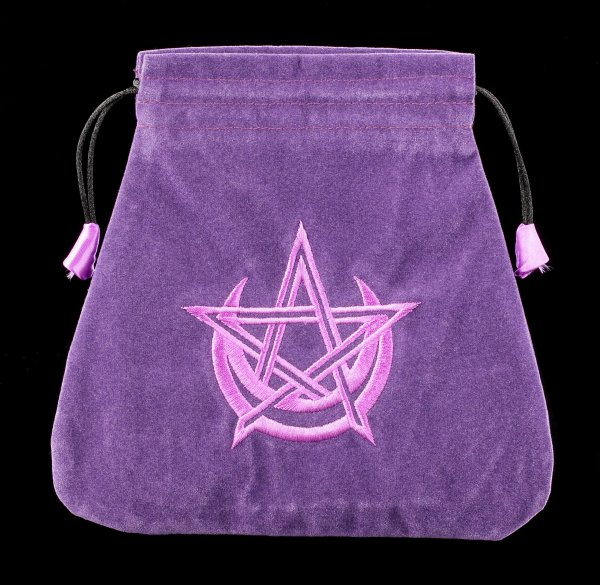 Wicca Tarotbeutel - lila